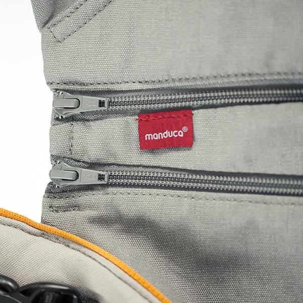 Manduca XT Features - Integrated ZipIn