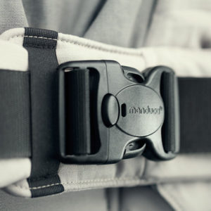 Manduca XT Features - Optimized safety buckle